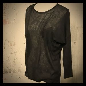 La Los Angeles Batwing Pullover Sweater